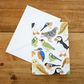 Illustrated British Birds Card