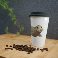 Ceramic Seal Travel Mug