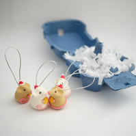 Handmade Mouse Christmas Tree Decorations - With Plastic Free Packaging