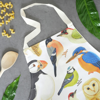 British Birds Apron - Wildlife Inspired Gift