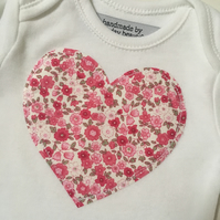 Floral Heart Baby Gift