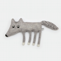 Walter the Wolf Lambswool Plush - Made to order