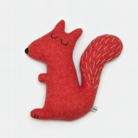 Stanley the Squirrel Lambswool Plush - Made to order