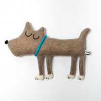 Hugo the Dog Lambswool Plush - Made to order