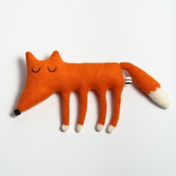 Monty the Fox Lambswool Plush - Made to order