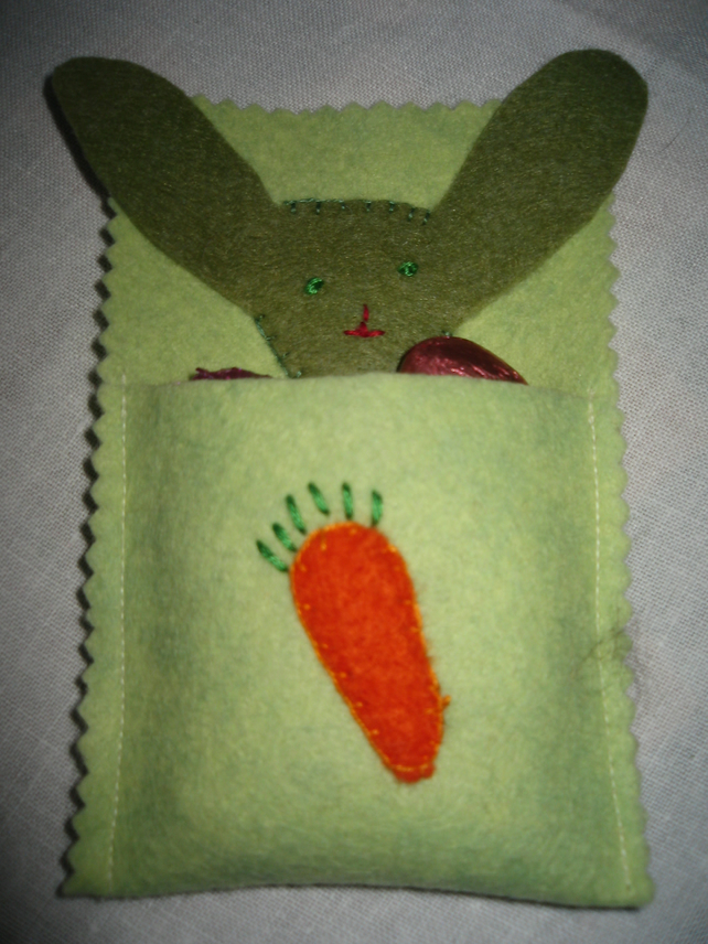 Easter Felt Bunny Rabbit Hanging Decoration for your Easter Tree