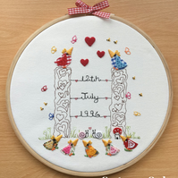 Personalise Your Own Hoop.