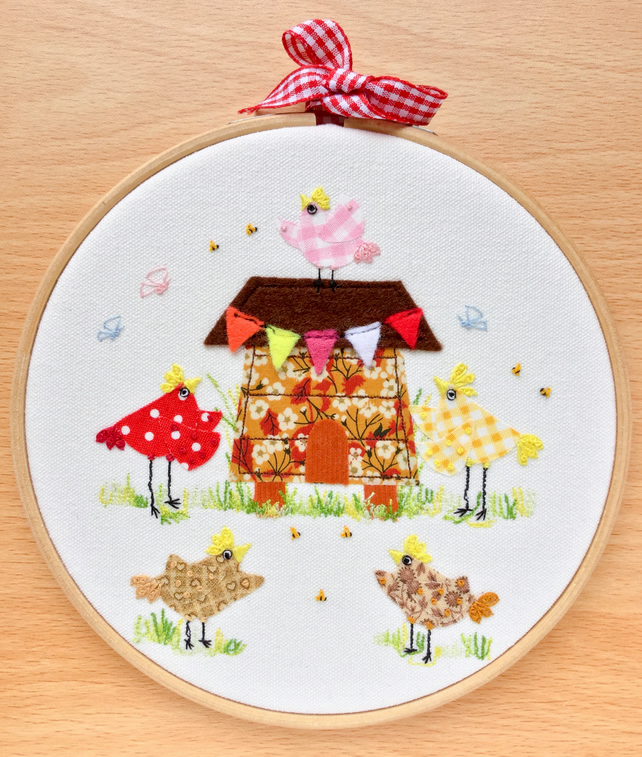 "Hoop art ""Chicken coop"""