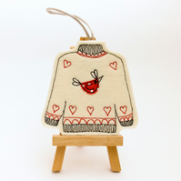 "Tree decoration ""Chicken Love"""