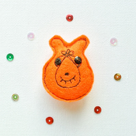 Space hopper Brooch.
