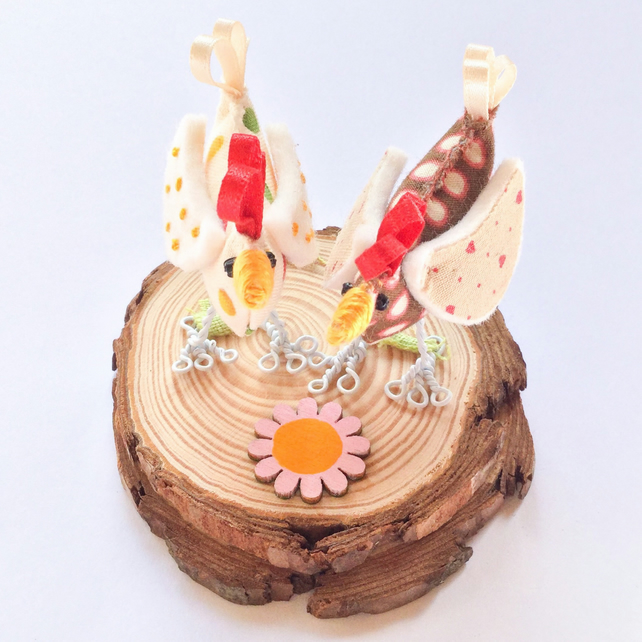 Diorama Dotty Chickens
