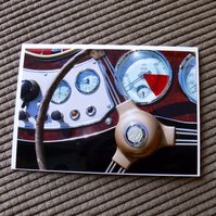 Morgan Dashboard Greeting Card