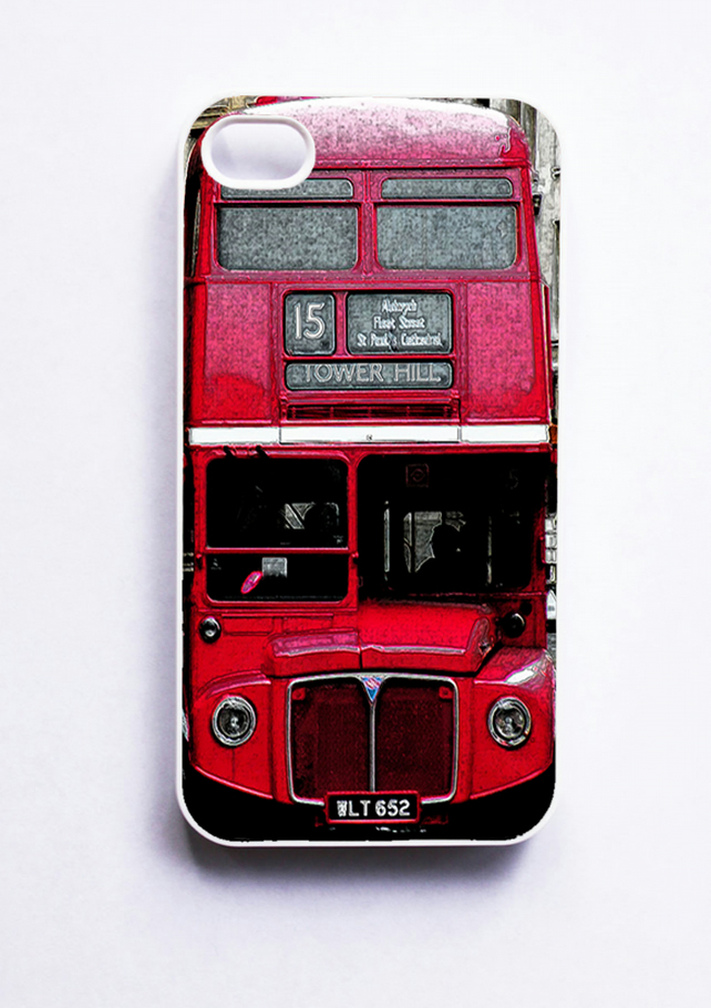 Vintage London Red Bus