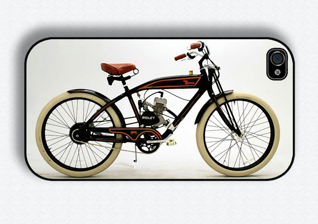 Vintage Bike Iphone 4 cover
