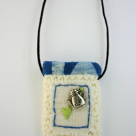 Textile Pocket Pendant 1