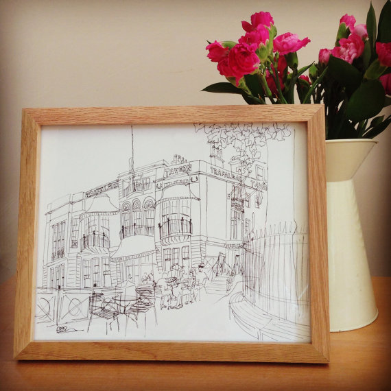 Bespoke Building Illustration - Wedding, New Home, Anniversary, Souvenir, etc