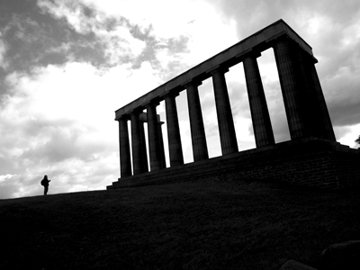 "National Monument, Edinburgh - 10 x 8"" Print"