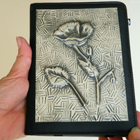 Kindle Touch Folio Case Flower Design Leather Style