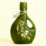 Reserved - Basquaise Bottle with Ceramic Swing Top