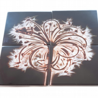 """Sopwell Trinity"" Set of 4 Glass Coasters"