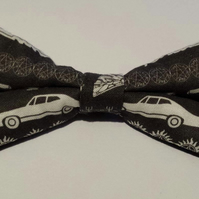 Adjustable Bow Tie made with Supernatural fabric
