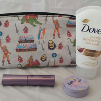 Make Up Bag Made With He Man Fabric