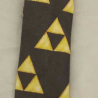 Necktie made using Triforce fabric