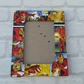 Iron Man Super Hero Comic Book Decoupage Picture Frame 7x5