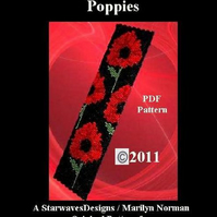 Remember Me - Poppies   - PDF Pattern Only