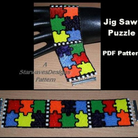 Jig Saw Puzzle - PDF Pattern Only