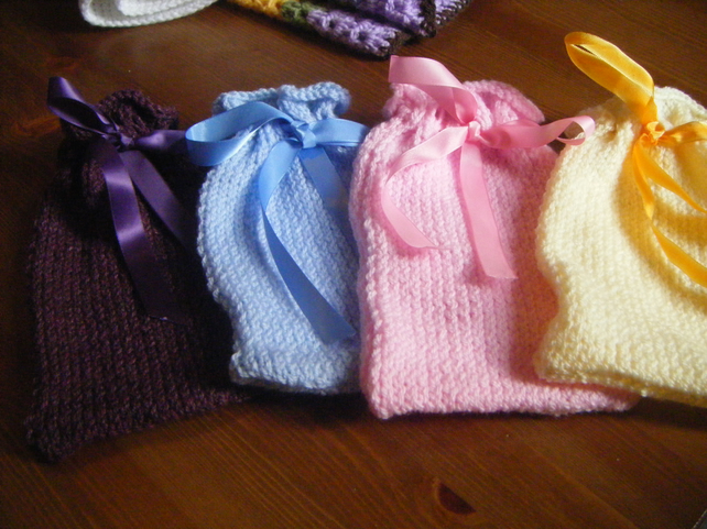 Knitted Gift Bag