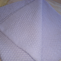Lilac Baby Blanket Throw