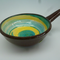 Small Ceramic Dish with handle