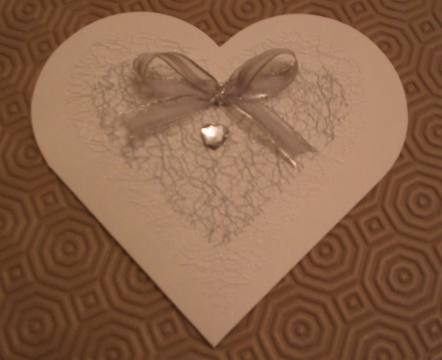 Pack of 10 Heart shaped wedding invitations - i... - Folksy