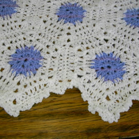 HEXIGAN Crochet Blanket and Shawl  Cuddle (nannycheryl original) 660  cjh9
