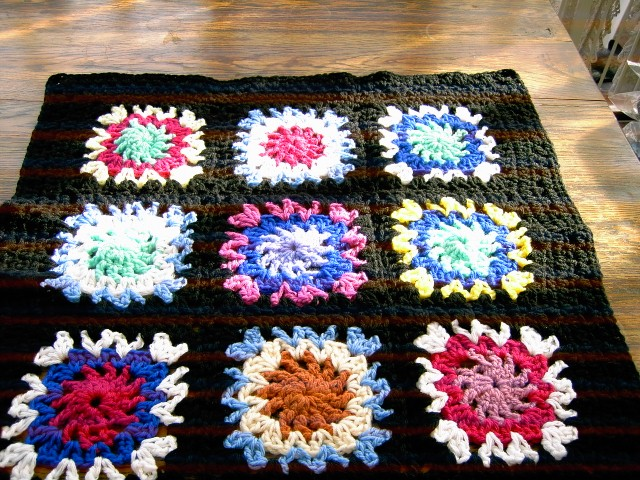 CROCHET BLANKET for Prem Baby or Doll   ID 817  (nannycheryl original)