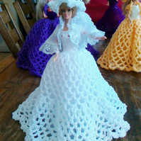 Handmade BALLGOWN  for Barbie Dolls  (nannycheryloriginal) 920  (box 22)