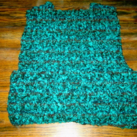 HANDMADE CHILDS CROCHET BOLERO (nannycheryl original) ID NO  940E (box 30)