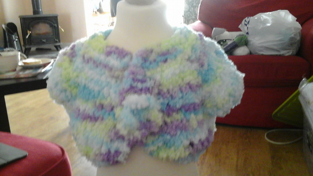HANDMADE light fluffy Knitted Cardigans  by nanny cheryl originals 1036 cjh20