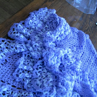 Crochet Blanket and Shawl Baby Cuddle blanket (nannycheryl original)  452 cjh16