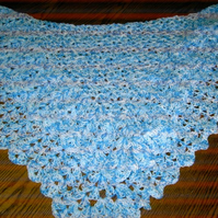 Crochet Blanket and Shawl Baby Cuddle blanket (nannycheryl original)  675 cjh16
