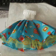 Handmade  50's style dress for barbie doll  (nannycheryloriginal) 1275 cjhk1