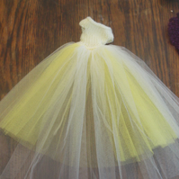 Handmade  Ballgown Outfit for Barbie Dolls   (nannycheryloriginal) 1087 cjh S22