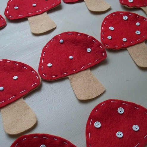 toadstall embellishments