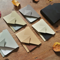 Mini Origami Envelope Box Set