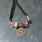 Necklace - Agate Rose-Gold