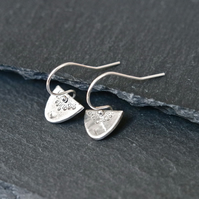 Fine Silver Earrings - Heirloom Collection little flowers