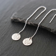 Lotus silver threaders flower pure silver clay sterling silver