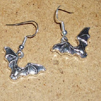 Bat Earrings Short Drop