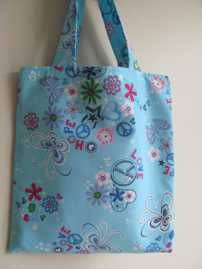 Hope and Peace Tote Bag